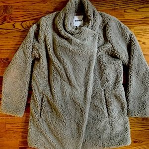 Super soft and cozy Sherpa coat